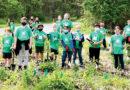 SOUTHWEST STEWARDS HELP TO CLEAN UP FOX ISLAND