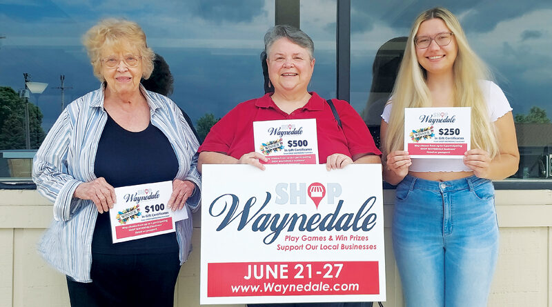 'SHOP WAYNEDALE' WINNERS & GAME ANSWERS ANNOUNCED