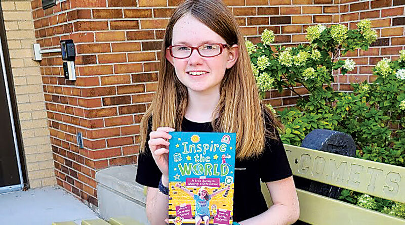 12 YEAR OLD 'BUDDY BENCH' CREATOR RELEASES A NEW BOOK – Marcelia's Musings